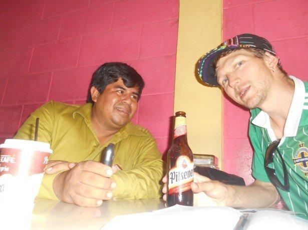 Beers in Sonsonate, El Salvador