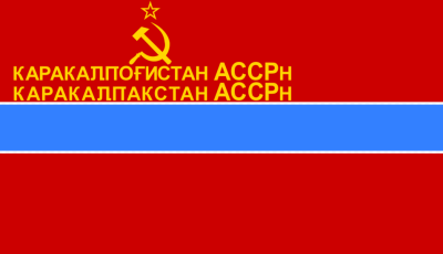 Flag of Karakalpak SSR