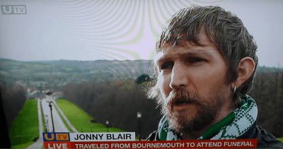 Jonny Blair on UTV