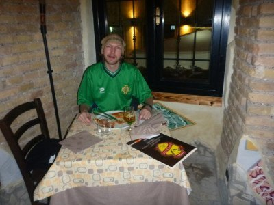 Dining out in Italy