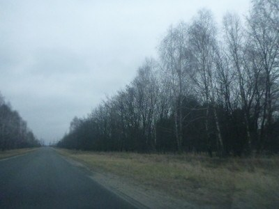 Leaving the Chernobyl Exclusion Zone