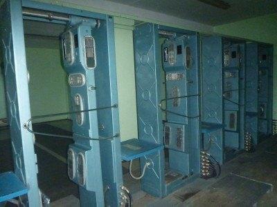 Radiation checks in Chernobyl Town