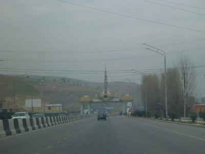 Leaving Dushanbe