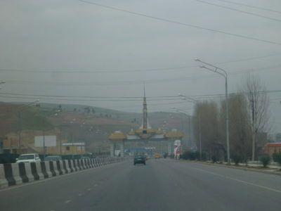 Leaving Dushanbe