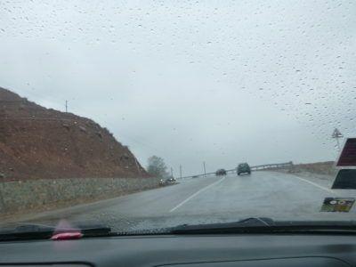 Dushanbe to Kulob road