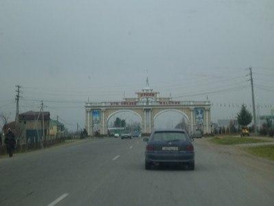 Arriving in Kulob, Tajikistan