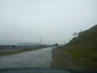 Leaving Kulob, the road to the Gorno Badakhshan border point.
