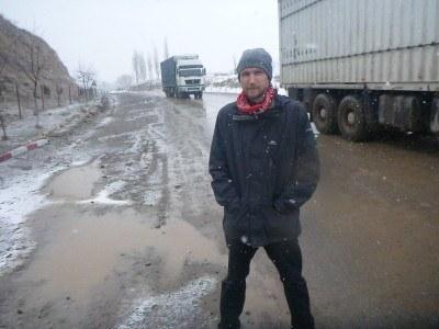 Arrival in Gorno Badakhshan, we've just broken down