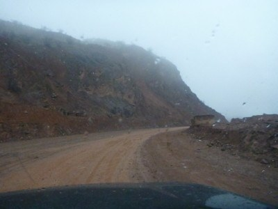 The road to Khorog, Gorno Badakhshan.