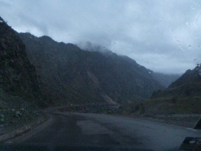 The road to Kalai Khum
