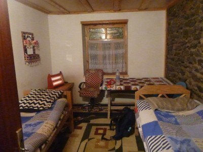 My room in Pamir Lodge