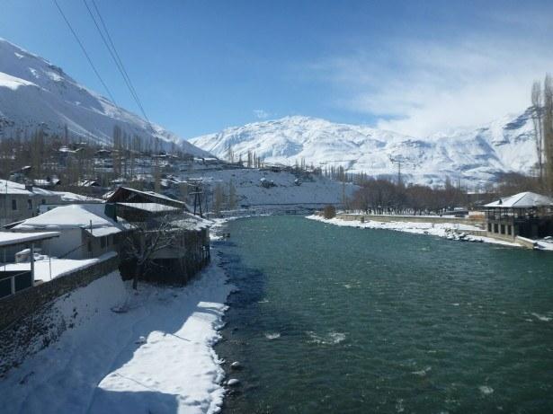 Ghund River, Khorog