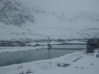 Border from Tajikistan to Afghanistan