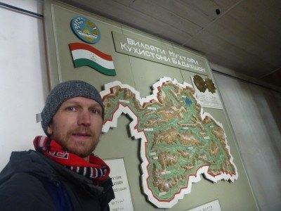 Touring the regional museum in Khorog, Gorno Badakhshan
