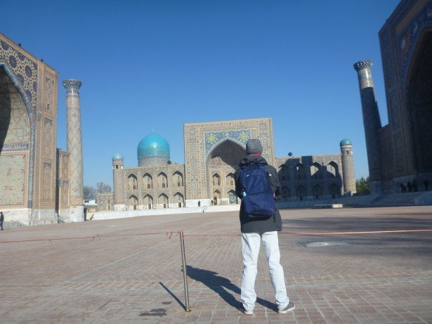 Backpacking in Uzbekistan: Doing a Guided Day Tour of Samarkand City