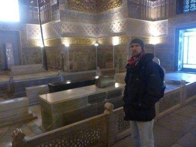 Amir Temur's Actual tombstone