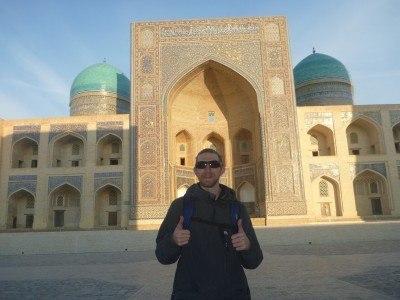 Touring Bukhara, Uzbekistan