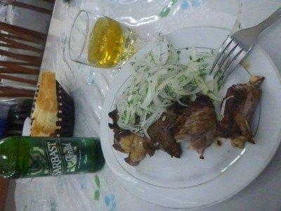 Dinner in Termiz