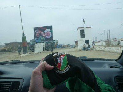Glentoran FC arrives in Afghanistan