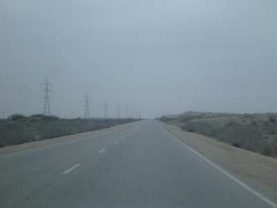 The drive to Masar e Sharif, Afghanistan