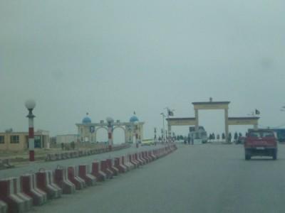 Arrival in Masar e Sharif