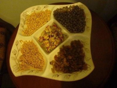 Afghan snacks