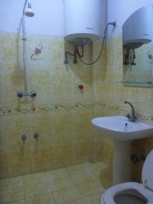 Non-Asian bathroom