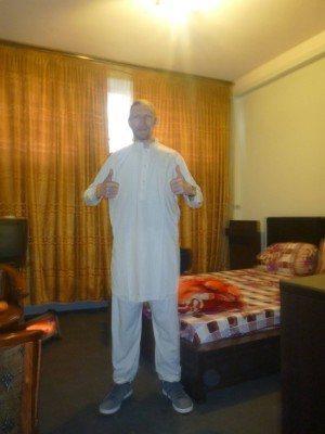 My hotel room in Afghanistan