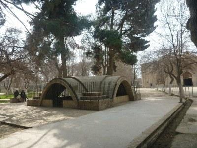 Rabia Balkhi's tomb