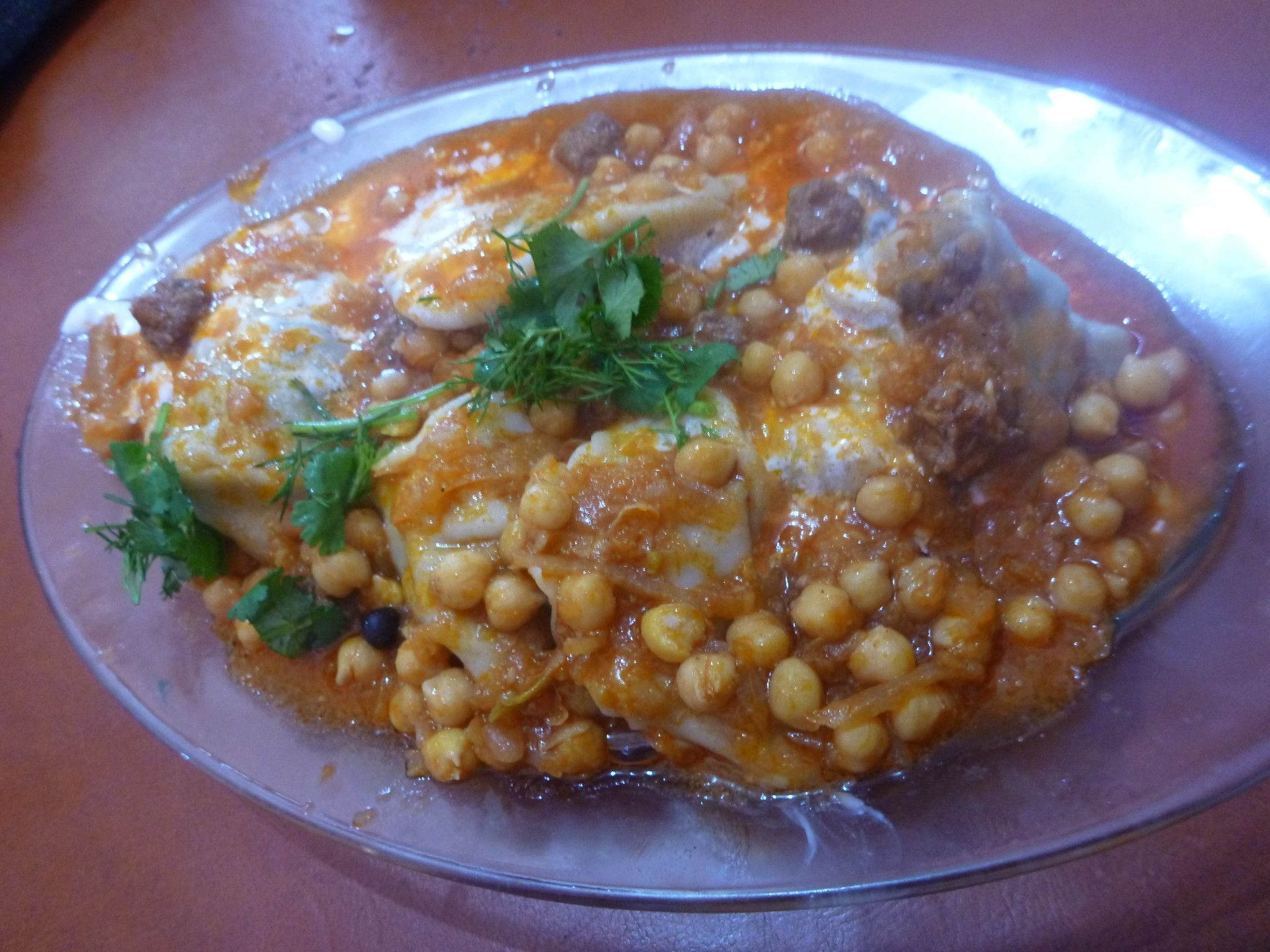Friday's Featured Food: Eating the National Dish Mantoo in Sunatala Restaurant, Masa e Sharif, Afghanistan