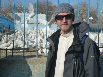 Masar e Sharif's World of White pigeons!