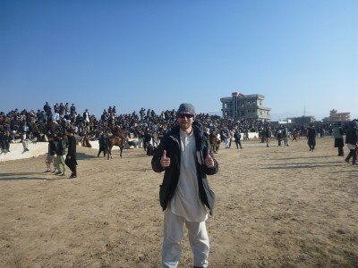 Arrival at the Maydani Stadium for Buzkashi
