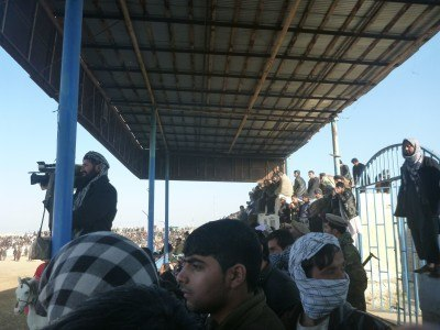 The Grandstand at Buzkashi