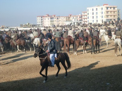 Watching Buzkashi in Masar e Sharif: Afghanistan's National Sport