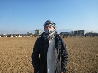 Backpacking in Masar e Sharif, Afghanistan