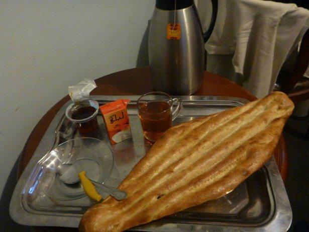 My Afghan breakfast