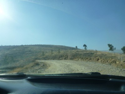 The drive to Takht e Rostam in Samangan