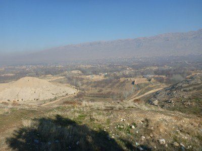 The brilliant views on arrival at Takht e Rostam