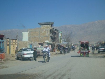 Downtown Haibak, Afghanistan