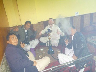 Thirsty Thursdays: Saturday Night out in Afghanistan - Shisha and Tea in Abshar Shisha Lounge, Masar e Sharif