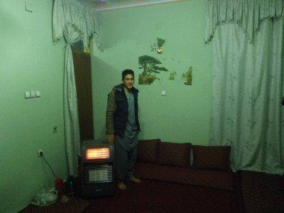 Mahdi and the heater