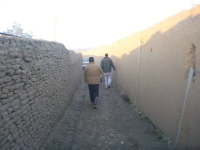 The lane to my homestay