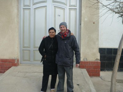 Madina and I in Bukhara