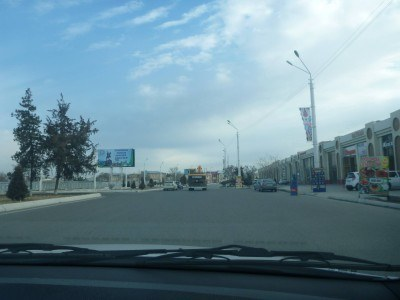 A slow ride to Nukus