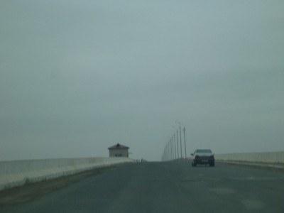 The road to Karakalpakstan's capital city, Nukus