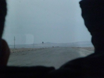The road to Nukus in Karakalpakstan