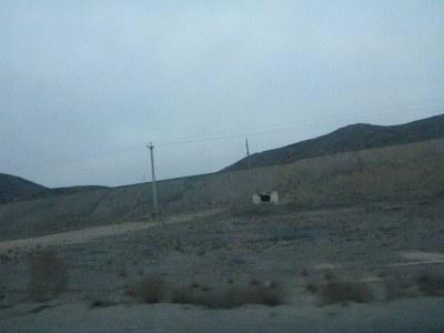 The countryside of Karakalpakstan