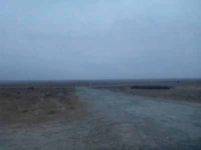 Wilderness from the petrol station, Karakalpakstan