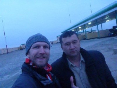 Whiskey boy and I - backpacking in Karakalpakstan