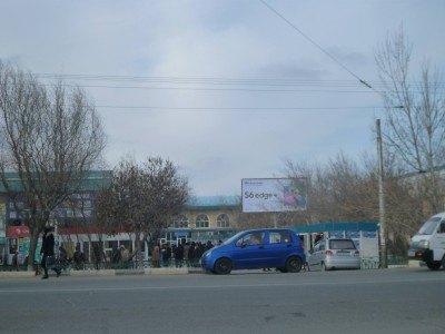 Downtown Nukus, Karakalpakstan